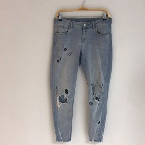 ZARA Distressed Z1975 Denims